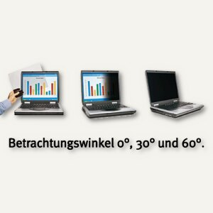 "3M Notebook Sichtschutzfilter Vikuiti, 14"" LCD, 16:9, PF14.0W"