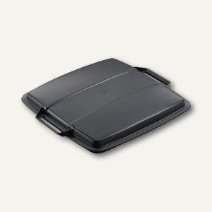 Durable Abfalldeckel DURABIN Lid, 90 Liter, schwarz, 1800475221