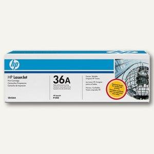 HP Tonerkartusche schwarz, 36A, CB436A