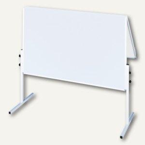 Moderationstafel X-tra!Line, klappbar, 120 x 150 cm, Karton, weiß, CC-UMTK-G