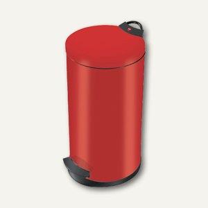 Hailo Tret-Abfallsammler T2.20, 20 Liter, Stahlblech, rot, 0520-839