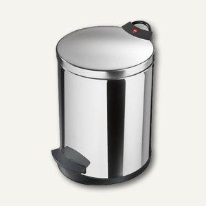 Hailo Tret-Abfallsammler T2.13, 13 Liter, Edelstahl, 0513-033
