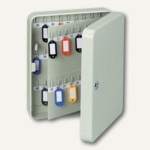 MAUL Schlüsselkasten für 90 Schlüssel, 245 x 300 x 80 mm, grau, 5659084