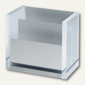 MAUL Zettelbox MAULacro, 11.2x7x10.1 ohne Zettel, glasklar, 2 St., 1964005