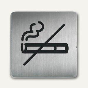 quadratisches Piktogramm Nichtraucher