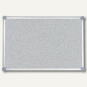 Hebel Pinnboard 2000, Struktur, 90 x 120 cm, pinnfähig, grau, 6294884