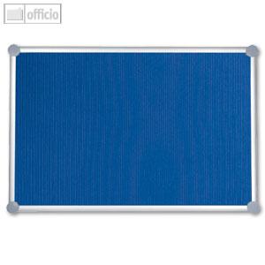 Hebel Pinnboard 2000, Textil, 90 x 120 cm, pinnfähig, blau, 6294435