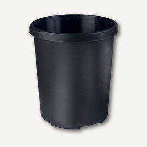 HAN Papierkorb MOBIL XXL, 50 Liter, 2 Griffmulden, schwarz, 1836-13
