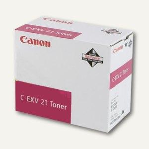 Canon Toner C-EXV21, ca. 14.000 Seiten, magenta, 0454B002