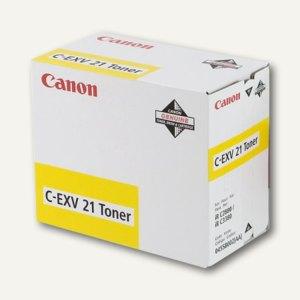 Canon Toner C-EXV21, ca. 14.000 Seiten, gelb, 0455B002
