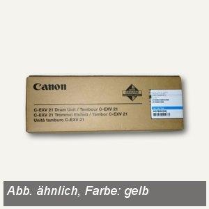Canon Trommeleinheit C-EXV21, ca. 53.000 Seiten, gelb, 0459B002