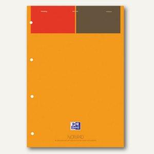 Oxford Notizblock A4+ gelbes Papier 90 g/m², liniert, 5 St., 100100101