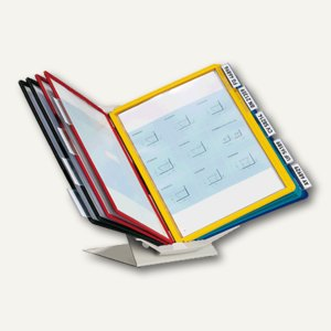Durable Sichttafelsystem VARIO PRO 10, A4, Wand/Tisch,hoch/quer,sortiert,5579-00