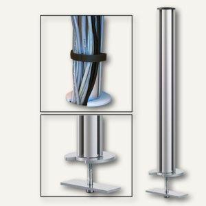 TSS-Säule mit Kabellochbefestigung (Tisch)