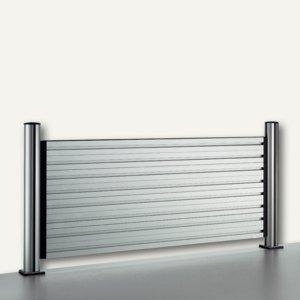 Novus Slatwall System, 80 cm, 4 Elemente + 2 TSS Säulen m. Zubehör, 974+0805+000