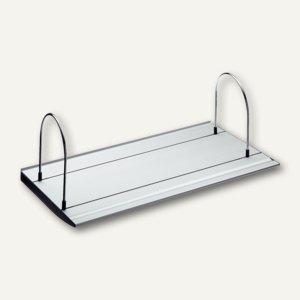 Novus Slatwall Board 100, Board inkl. Endkappen + Stützbügel, 1 m, 760+1005+000