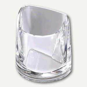 Rexel Stifteköcher Nimbus, Acryl, kristallklar, 2101502