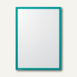 Ultradex Infotasche DIN A4, hoch/quer, magnethaftend, grün, 5 Stück, 889001