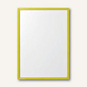 Ultradex Infotasche DIN A4, hoch/quer, magnethaftend, gelb, 5 Stück, 889002