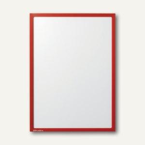 Ultradex Infotasche DIN A2, hoch/quer, magnethaftend, rot, 5 Stück, 889805