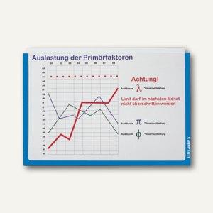 Ultradex Infotasche DIN A3, quer, selbstklebend, blau, 5 Stück, 879407