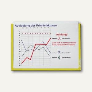 Ultradex Infotasche DIN A3, quer, selbstklebend, gelb, 5 Stück, 879402