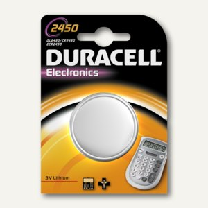 Duracell Lithium Knopfzelle ELECTRONICS, CR2450, DUR030428