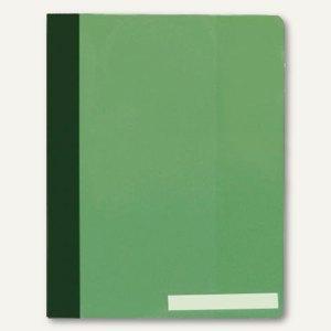 Durable Schnellhefter DIN A4, überbreit, Hartfolie, grün, 25 Stück, 2510-05
