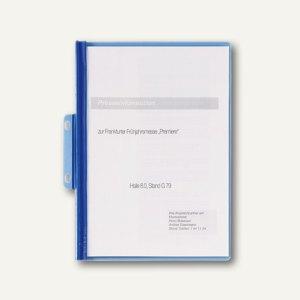Durable Präsentationshefter Durabind DIN A4, bis 30 Blatt, blau, 25 St., 2250-06