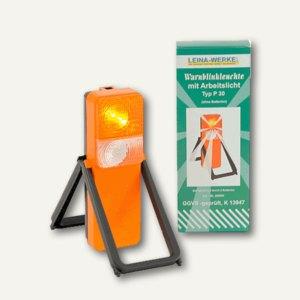 Leina -Werke Warnblinkleuchte, 105x60x280 mm, orange/schwarz P30, REF 42001