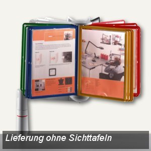 ViewMaster Karussell Unizwinge, f. 30/40 Sichttafeln A4, anthrazit, 748+3005+000