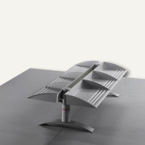 Novus DUO BoardMaster 100, 2 Regale, gegenüber, 2 Tischfüße, anthrazit, 751+2565