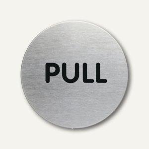 Artikelbild: Edelstahl-Piktogramm PULL