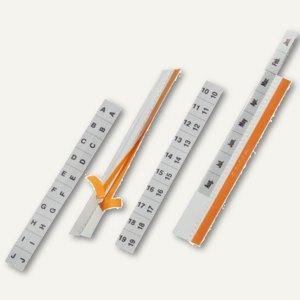 Durable Selbstklebereiter Tabfix, transparent, 13 mm Höhe, 25 Stück, 8403-19