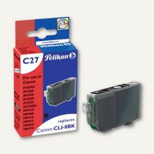 Artikelbild: Tintenpatrone C27 für Canon CLI-8bk mit Chip