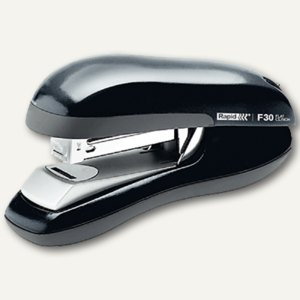 Rapid Tacker Heftgerät F30 flat-clinch, ABS-Kunstoff, schwarz, 2356500