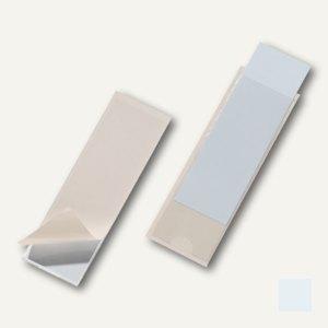 Durable Selbstklebetasche Pocketfix, 40 x 125 mm, transparent, 100 Stück,8074-19