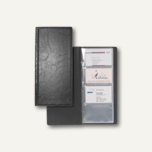 """Durable Visitenkartenalbum """"VISIFIX 128"""", schwarz, 3 Stück, 2308-01"""