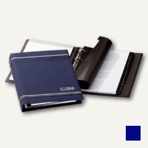 Durable Telefonringbuch A5 TELINDEX,12 tlg. Register, dunkelblau, 2377-07