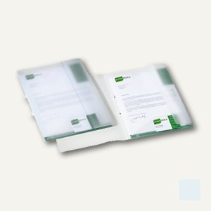 Durable Sammelmappe MULTIFILE, DIN A4, 2 Klappen, transparent, 15 St., 2533-19