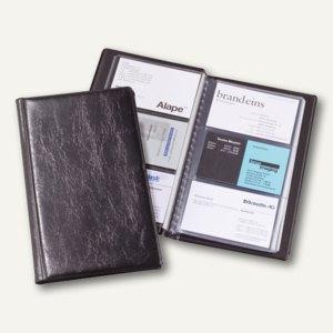 Durable Visitenkartenalbum VISIFIX 72, schwarz, 4 Stück, 2400-01