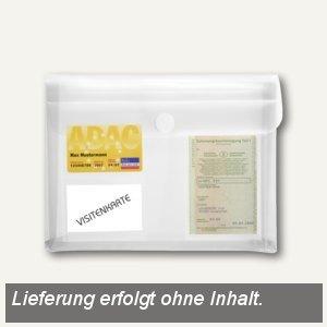 FolderSys KFZ-Tasche mit Dehnfalte 3cm, 3 Folientaschen, klar, 100 St., 4011504