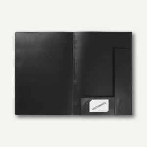 FolderSys Angebots-Mappe, bis 50 Blatt A4, PP, Abheftlasche, schw, 50St. 1001730