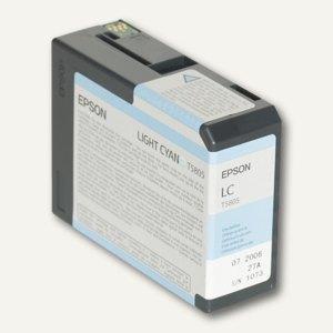 Epson Tintenpatrone T5805 für Stylus Pro 3800, cyan hell, C13T580500