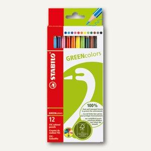 Farbstifte GREENcolors aus FSC-Holz