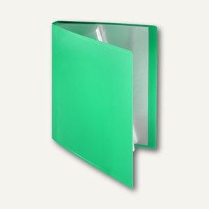 FolderSys Soft-Sichtbuch DIN A4, incl. 20 Hüllen, grün, 20 St, 2580250