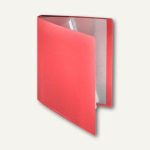 FolderSys Soft-Sichtbuch DIN A4, incl. 30 Hüllen, rot, 20 St., 2580380