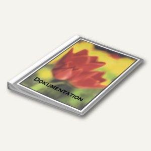 Präsentations-Sichtbuch neutral DIN A4, incl. 10 Hüllen, grau, 20 St, 2581137