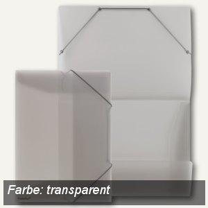 FolderSys Eckspannsammelmappe für DIN A4, PP, transparent, 30 Stück, 1000504