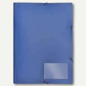 FolderSys Eckspannsammelmappe für DIN A4, PP, blau, VE 30 Stück, 1000640